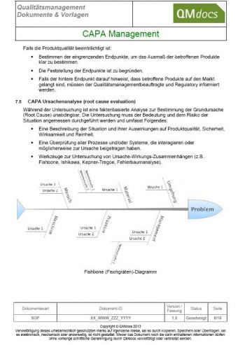 CAPA Management - Korrekturmaßnahmen